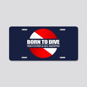 BTD Aluminum License Plate