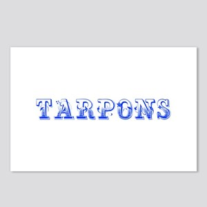 Tarpons-Max blue 400 Postcards (Package of 8)