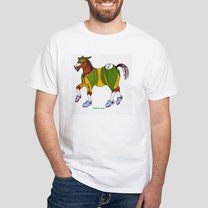 Biathlete Clyde White T-Shirt