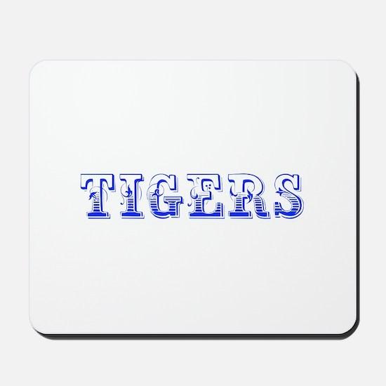 Tigers-Max blue 400 Mousepad