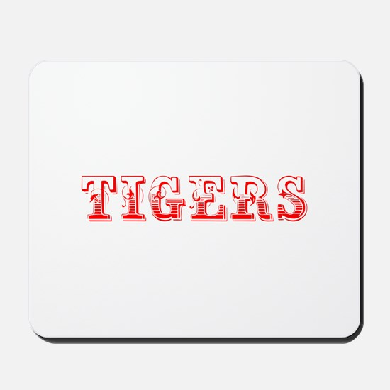 Tigers-Max red 400 Mousepad