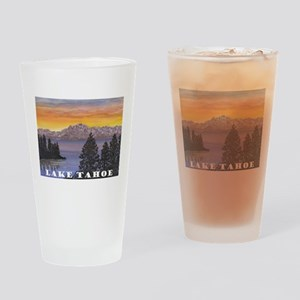 Mt. Tallac Lake Tahoe Drinking Glass