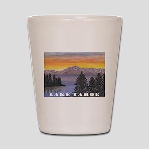 Mt. Tallac Lake Tahoe Shot Glass