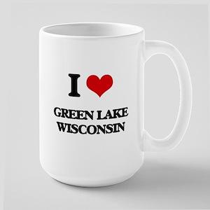 I love Green Lake Wisconsin Mugs