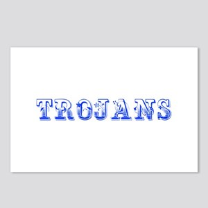 Trojans-Max blue 400 Postcards (Package of 8)