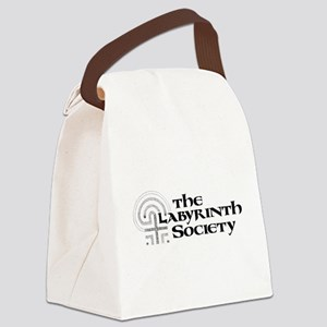 TLS Logo (Black) Canvas Lunch Bag