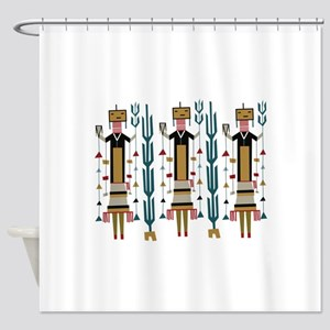 Cactus Women Shower Curtain