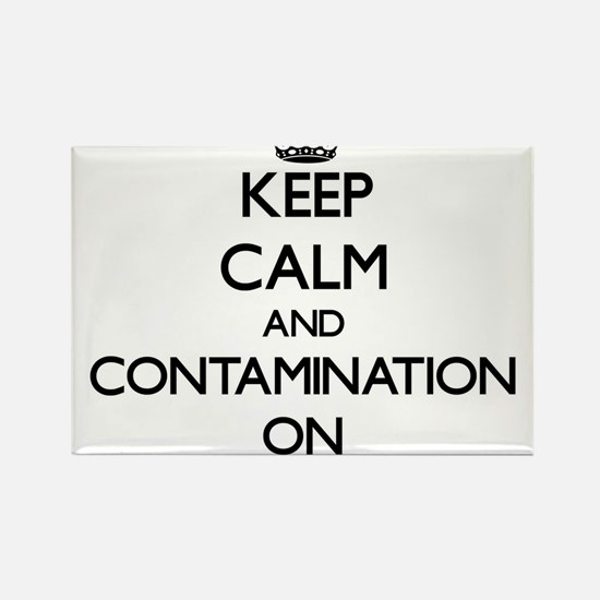 Keep Calm and Containers ON Magnets