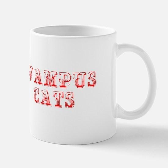 Wampus Cats-Max red 400 Mugs