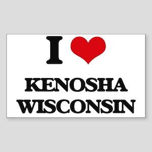 I love Kenosha Wisconsin Sticker