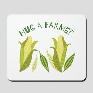 Hug A Farmer Mousepad