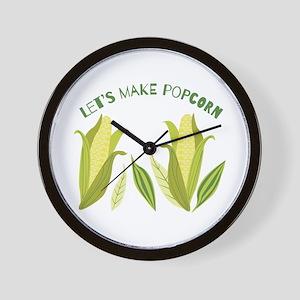 Make Popcorn Wall Clock