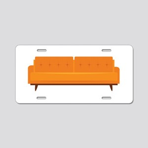 Sofa Aluminum License Plate