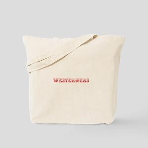 Westerners-Max red 400 Tote Bag