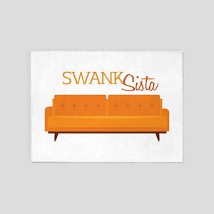 Swank Sista 5'x7'Area Rug
