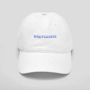 Wolverines-Max blue 400 Baseball Cap