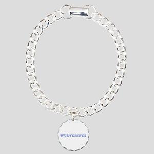Wolverines-Max blue 400 Bracelet