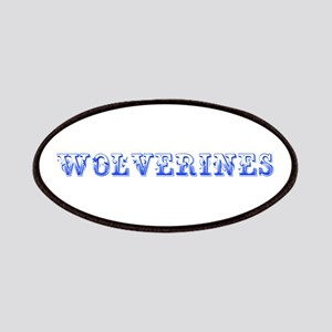 Wolverines-Max blue 400 Patch