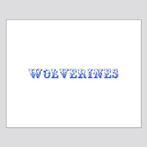 Wolverines-Max blue 400 Posters