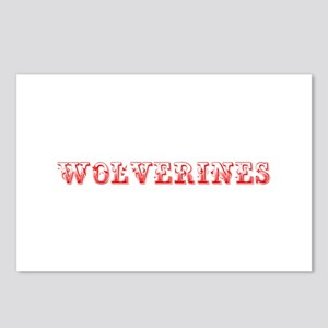 Wolverines-Max red 400 Postcards (Package of 8)