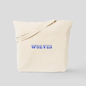Wolves-Max blue 400 Tote Bag