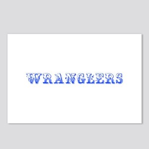 Wranglers-Max blue 400 Postcards (Package of 8)