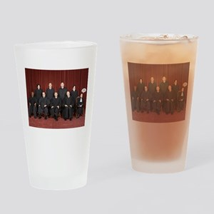 I'm Not With Them Drinking Glass