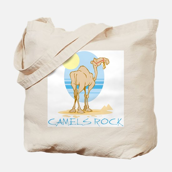 Camels Rock Tote Bag