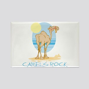 Camels Rock Rectangle Magnet