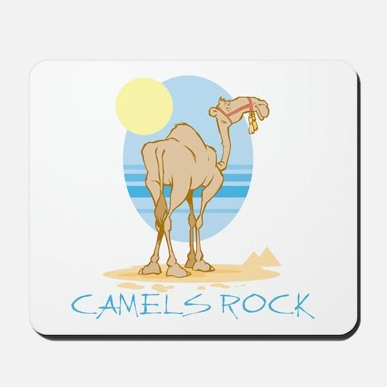 Camels Rock Mousepad