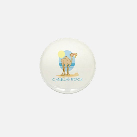 Camels Rock Mini Button