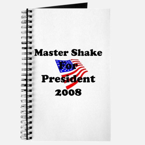 Vote for Master Shake Journal