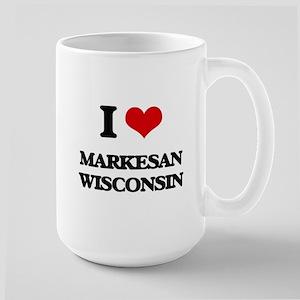 I love Markesan Wisconsin Mugs