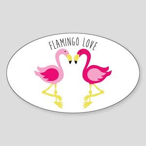 Flamingo Love Sticker