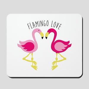 Flamingo Love Mousepad