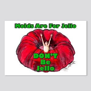 Don't Be Jello Postcards (package Of 8)