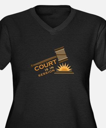 Court Session Plus Size T-Shirt