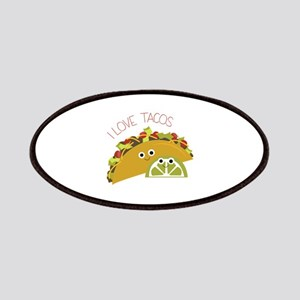 I Love Tacos Patch