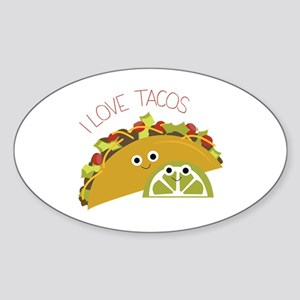 I Love Tacos Sticker