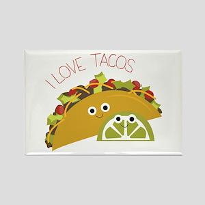 I Love Tacos Magnets