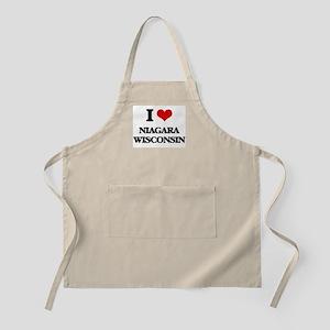 I love Niagara Wisconsin Apron