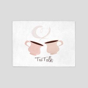 Tea Talk 5'x7'Area Rug