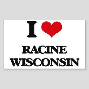 I love Racine Wisconsin Sticker