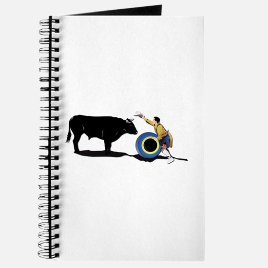Clown and Bull-No-Text Journal