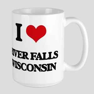 I love River Falls Wisconsin Mugs