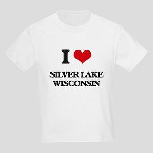 I love Silver Lake Wisconsin T-Shirt