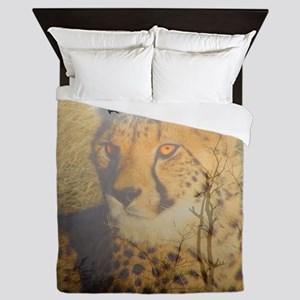 "Magic Animals ""CHEETAH"" Queen Duvet"