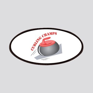 Curling Champs Patch