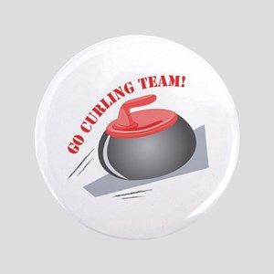 "Go Curling Team 3.5"" Button"