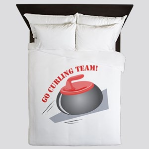 Go Curling Team Queen Duvet